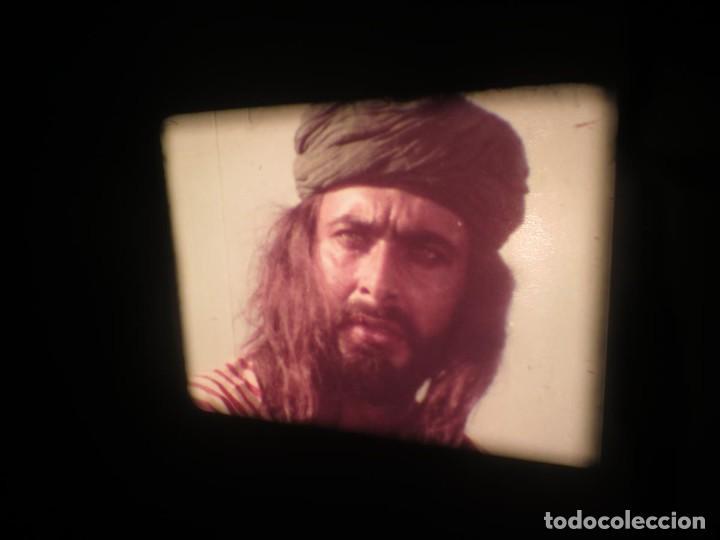 Cine: SANDOKÁN SERIE TV -SUPER 8 MM- 6 x 180 MTS-RETRO-VINTAGE FILM-EXCELLENT-COLOR IMPECABLE - Foto 160 - 189679777
