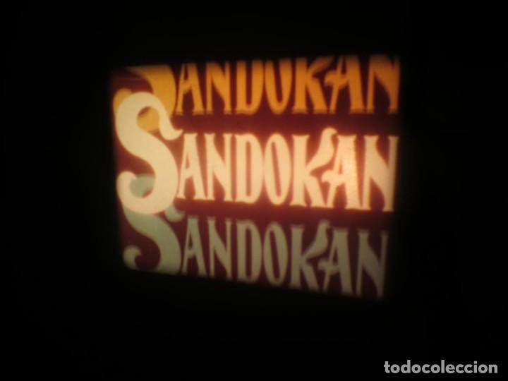 Cine: SANDOKÁN SERIE TV -SUPER 8 MM- 6 x 180 MTS-RETRO-VINTAGE FILM-EXCELLENT-COLOR IMPECABLE - Foto 168 - 189679777