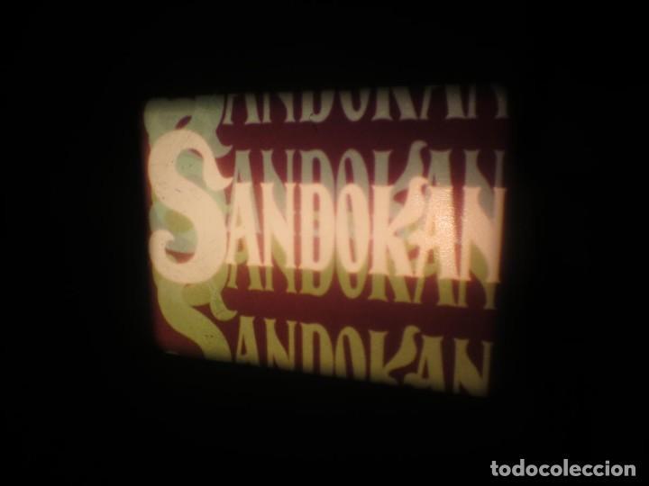 Cine: SANDOKÁN SERIE TV -SUPER 8 MM- 6 x 180 MTS-RETRO-VINTAGE FILM-EXCELLENT-COLOR IMPECABLE - Foto 169 - 189679777
