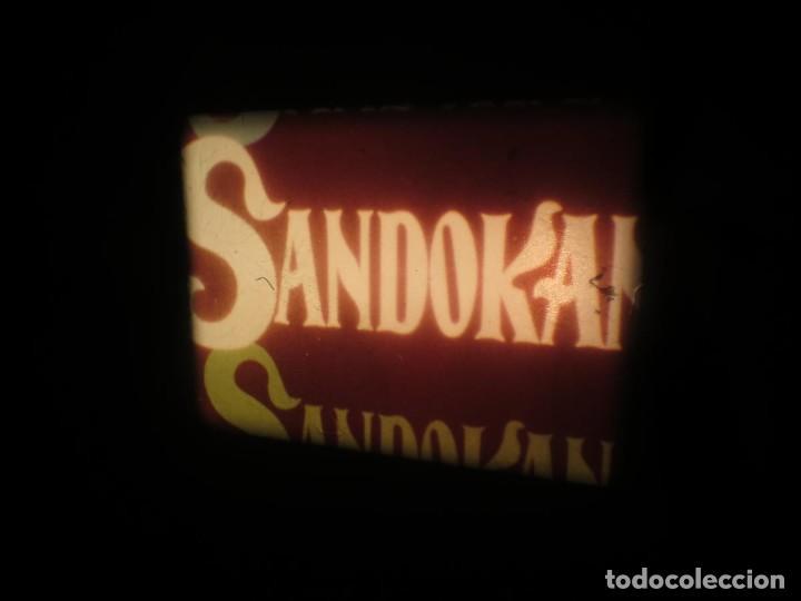 Cine: SANDOKÁN SERIE TV -SUPER 8 MM- 6 x 180 MTS-RETRO-VINTAGE FILM-EXCELLENT-COLOR IMPECABLE - Foto 170 - 189679777