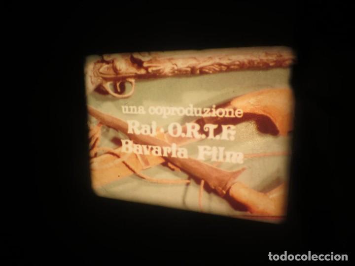 Cine: SANDOKÁN SERIE TV -SUPER 8 MM- 6 x 180 MTS-RETRO-VINTAGE FILM-EXCELLENT-COLOR IMPECABLE - Foto 174 - 189679777