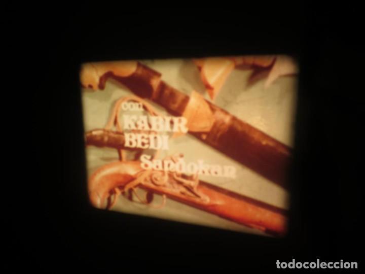 Cine: SANDOKÁN SERIE TV -SUPER 8 MM- 6 x 180 MTS-RETRO-VINTAGE FILM-EXCELLENT-COLOR IMPECABLE - Foto 183 - 189679777
