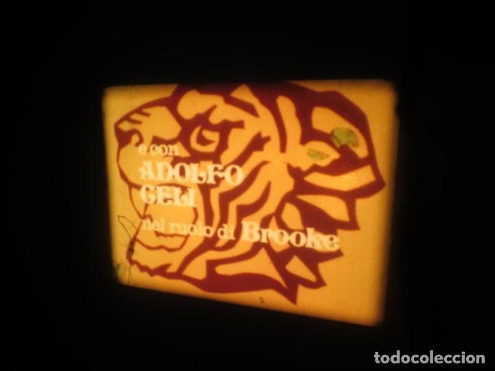 Cine: SANDOKÁN SERIE TV -SUPER 8 MM- 6 x 180 MTS-RETRO-VINTAGE FILM-EXCELLENT-COLOR IMPECABLE - Foto 196 - 189679777