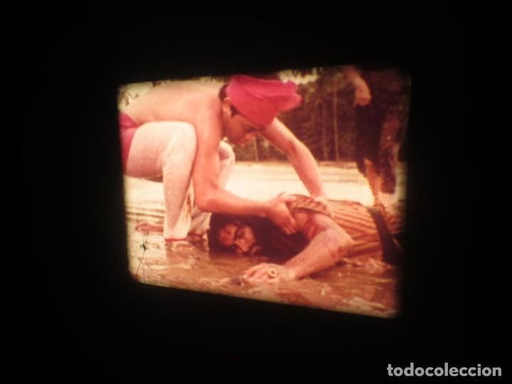 Cine: SANDOKÁN SERIE TV -SUPER 8 MM- 6 x 180 MTS-RETRO-VINTAGE FILM-EXCELLENT-COLOR IMPECABLE - Foto 216 - 189679777