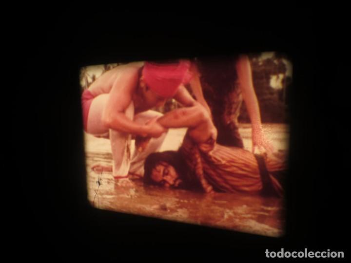 Cine: SANDOKÁN SERIE TV -SUPER 8 MM- 6 x 180 MTS-RETRO-VINTAGE FILM-EXCELLENT-COLOR IMPECABLE - Foto 217 - 189679777