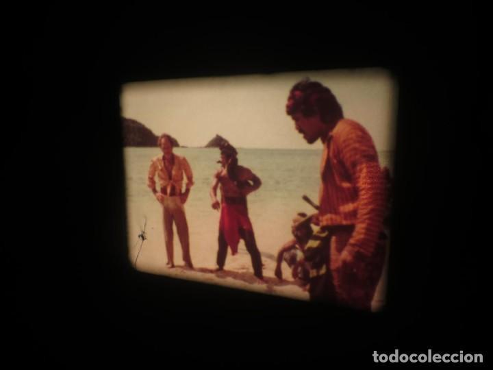 Cine: SANDOKÁN SERIE TV -SUPER 8 MM- 6 x 180 MTS-RETRO-VINTAGE FILM-EXCELLENT-COLOR IMPECABLE - Foto 226 - 189679777