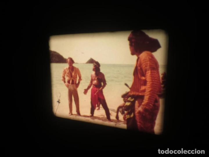 Cine: SANDOKÁN SERIE TV -SUPER 8 MM- 6 x 180 MTS-RETRO-VINTAGE FILM-EXCELLENT-COLOR IMPECABLE - Foto 227 - 189679777