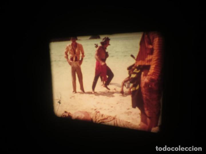 Cine: SANDOKÁN SERIE TV -SUPER 8 MM- 6 x 180 MTS-RETRO-VINTAGE FILM-EXCELLENT-COLOR IMPECABLE - Foto 228 - 189679777