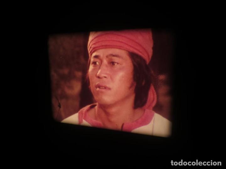 Cine: SANDOKÁN SERIE TV -SUPER 8 MM- 6 x 180 MTS-RETRO-VINTAGE FILM-EXCELLENT-COLOR IMPECABLE - Foto 325 - 189679777