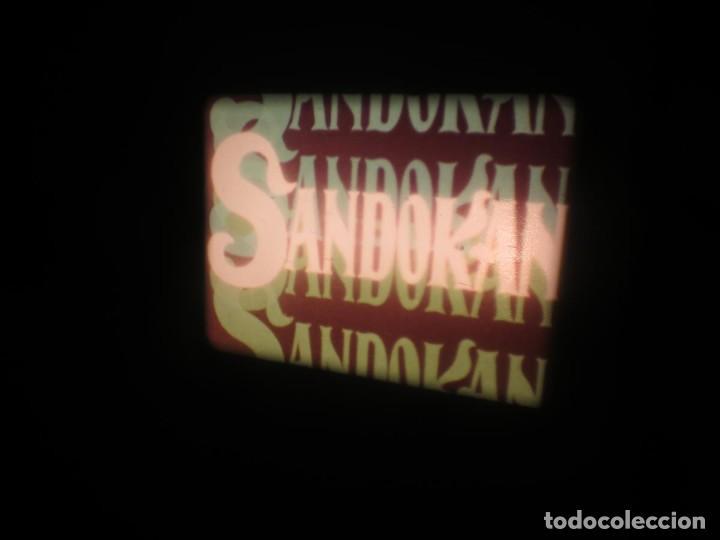 Cine: SANDOKÁN SERIE TV -SUPER 8 MM- 6 x 180 MTS-RETRO-VINTAGE FILM-EXCELLENT-COLOR IMPECABLE - Foto 346 - 189679777