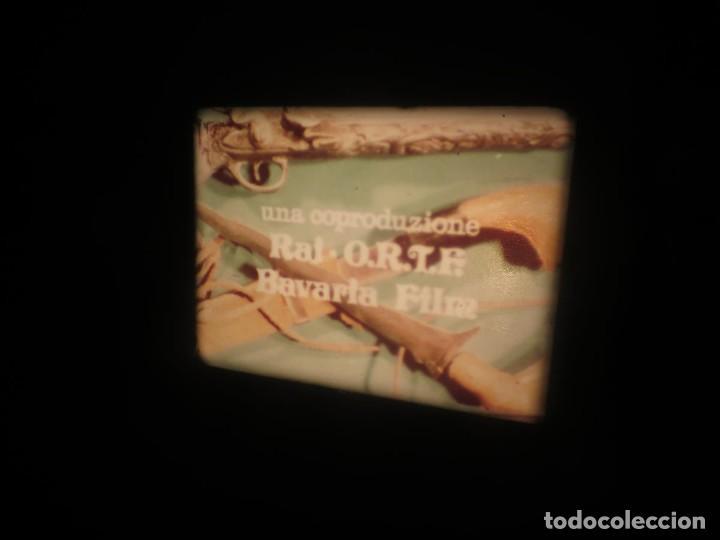 Cine: SANDOKÁN SERIE TV -SUPER 8 MM- 6 x 180 MTS-RETRO-VINTAGE FILM-EXCELLENT-COLOR IMPECABLE - Foto 350 - 189679777