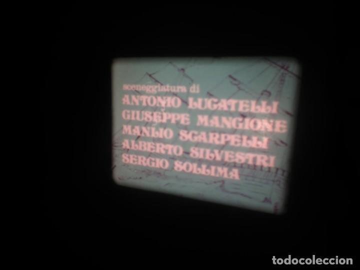 Cine: SANDOKÁN SERIE TV -SUPER 8 MM- 6 x 180 MTS-RETRO-VINTAGE FILM-EXCELLENT-COLOR IMPECABLE - Foto 354 - 189679777