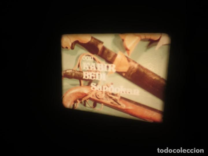Cine: SANDOKÁN SERIE TV -SUPER 8 MM- 6 x 180 MTS-RETRO-VINTAGE FILM-EXCELLENT-COLOR IMPECABLE - Foto 358 - 189679777