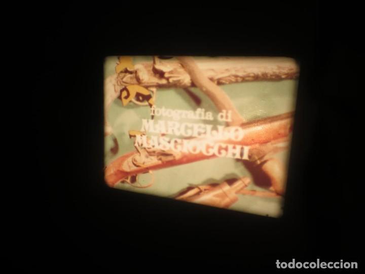 Cine: SANDOKÁN SERIE TV -SUPER 8 MM- 6 x 180 MTS-RETRO-VINTAGE FILM-EXCELLENT-COLOR IMPECABLE - Foto 372 - 189679777