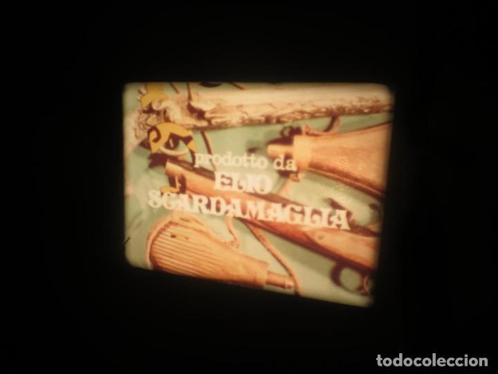 Cine: SANDOKÁN SERIE TV -SUPER 8 MM- 6 x 180 MTS-RETRO-VINTAGE FILM-EXCELLENT-COLOR IMPECABLE - Foto 379 - 189679777