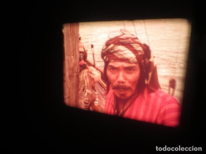 Cine: SANDOKÁN SERIE TV -SUPER 8 MM- 6 x 180 MTS-RETRO-VINTAGE FILM-EXCELLENT-COLOR IMPECABLE - Foto 391 - 189679777