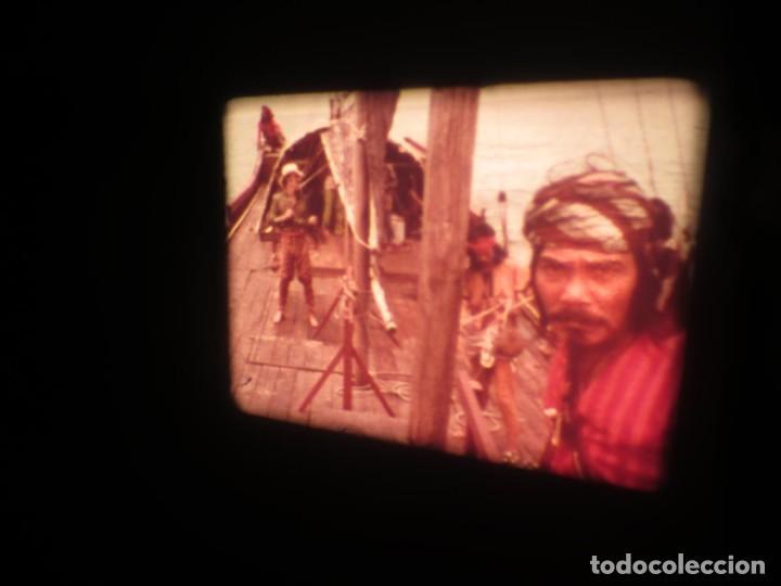 Cine: SANDOKÁN SERIE TV -SUPER 8 MM- 6 x 180 MTS-RETRO-VINTAGE FILM-EXCELLENT-COLOR IMPECABLE - Foto 392 - 189679777