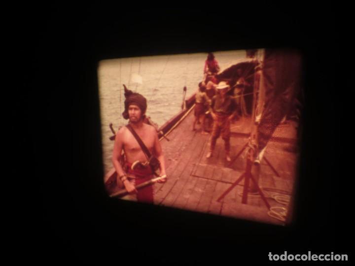Cine: SANDOKÁN SERIE TV -SUPER 8 MM- 6 x 180 MTS-RETRO-VINTAGE FILM-EXCELLENT-COLOR IMPECABLE - Foto 394 - 189679777