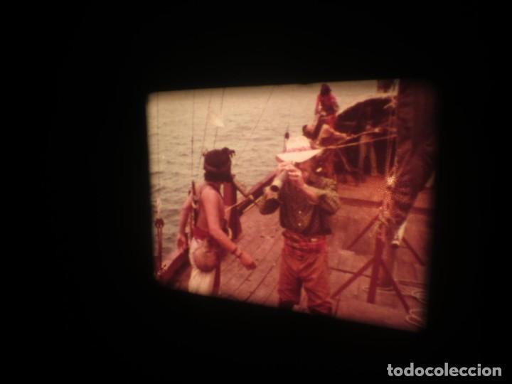 Cine: SANDOKÁN SERIE TV -SUPER 8 MM- 6 x 180 MTS-RETRO-VINTAGE FILM-EXCELLENT-COLOR IMPECABLE - Foto 396 - 189679777
