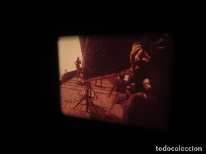 Cine: SANDOKÁN SERIE TV -SUPER 8 MM- 6 x 180 MTS-RETRO-VINTAGE FILM-EXCELLENT-COLOR IMPECABLE - Foto 397 - 189679777