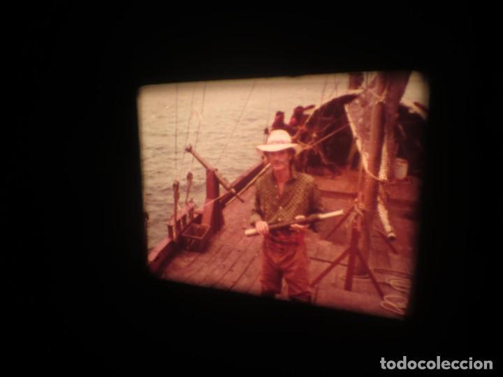 Cine: SANDOKÁN SERIE TV -SUPER 8 MM- 6 x 180 MTS-RETRO-VINTAGE FILM-EXCELLENT-COLOR IMPECABLE - Foto 398 - 189679777