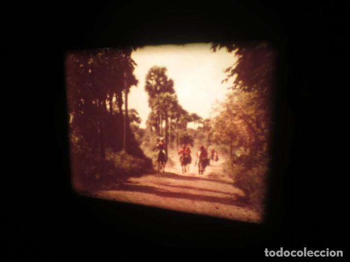 Cine: SANDOKÁN SERIE TV -SUPER 8 MM- 6 x 180 MTS-RETRO-VINTAGE FILM-EXCELLENT-COLOR IMPECABLE - Foto 423 - 189679777