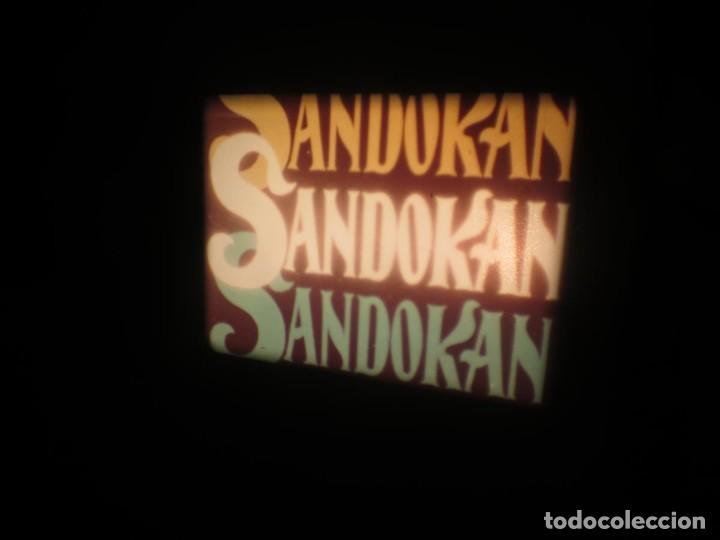 Cine: SANDOKÁN SERIE TV -SUPER 8 MM- 6 x 180 MTS-RETRO-VINTAGE FILM-EXCELLENT-COLOR IMPECABLE - Foto 439 - 189679777