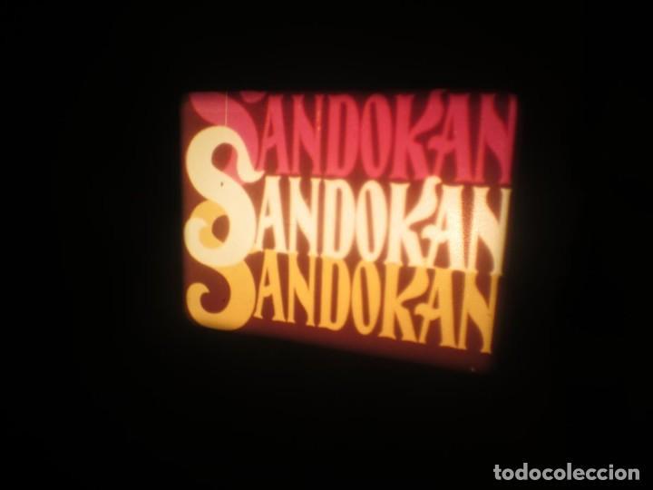 Cine: SANDOKÁN SERIE TV -SUPER 8 MM- 6 x 180 MTS-RETRO-VINTAGE FILM-EXCELLENT-COLOR IMPECABLE - Foto 447 - 189679777