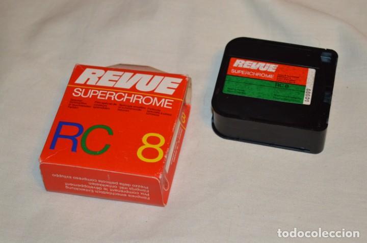 VINTAGE - 2 CARRETES / PELÍCULA SUPER 8 - REVUE SUPERCHROME RC 8 - MIRA FOTOS Y DETALLES (Cine - Películas - Super 8 mm)