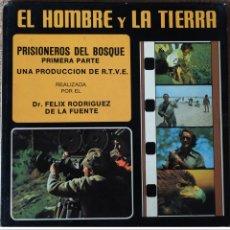 Cinéma: PELICULA COLOR SUPER8 SONORA EN BOBINA 180 METROS EL HOMBRE Y LA TIERRA FELIX RODRIGUEZ DE LA FUENTE. Lote 190544571