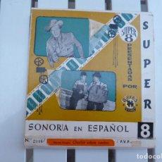 Cine: CHARLOT SOBRE RUEDAS SUPER 8. Lote 190976775