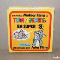 Cine: PELICULA SUPER 8 MM SONORA TOM Y JERRY EN JERRY JUMBO - MAHIER FILMS. Lote 191038050