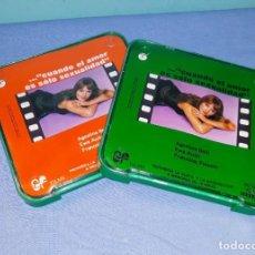 Cine: CUANDO EL AMOR ES SOLO SEXUALIDAD 1 Y 2 PELICULAS SUPER 8 COLOR SONORA ORIGINAL . Lote 191084053
