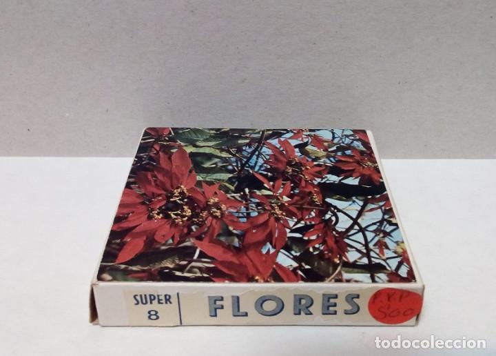Cine: Película Super 8 mm - Color, Temática Flores - Foto 2 - 191125456