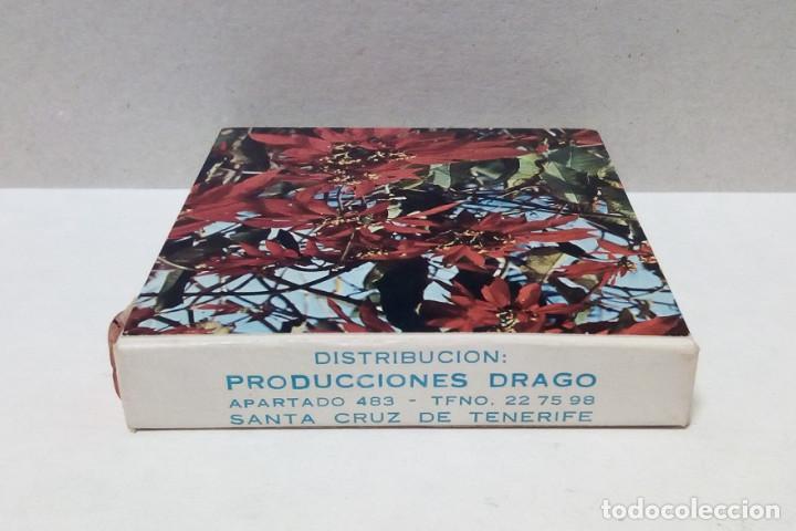 Cine: Película Super 8 mm - Color, Temática Flores - Foto 4 - 191125456