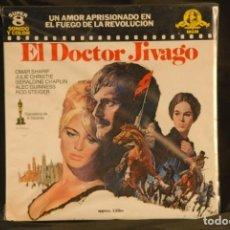 Cine: PELICULA SUPER 8 EL DOCTOR JIVAGO 120 M SDNORA. Lote 191466411
