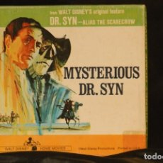 Cine: WUALT DISNEY PELICULA SUPER 8 MYSTERIOUS DR. SYN. Lote 191467908