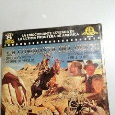 Cine: LA CONQUISTA DEL OESTE. RESUMEN EN BOBINA DE 120 M. COLOR SONORA ESPAÑOL DE LATINOAMERICA. Lote 191631073