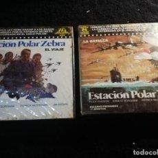 Cine: ESTACION POLAR ZEBRA SUPER 8 / 2 PELICULAS ESCENAS ESCOGIDAS. Lote 194098800