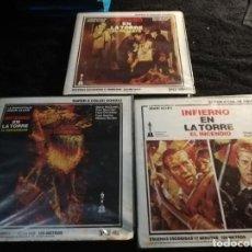 Cinema: INFIERNO EN LA TORRE SUPER 8 / 3 PELICULAS ESCENAS ESCOGIDAS. Lote 194098821