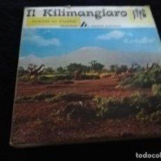 Cine: EL KILIMANJARO ARNOLDO MONDADORI SUPER 8 KILIMANGIARO. Lote 194153150
