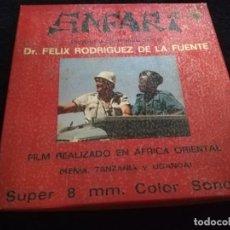 Cine: SAFARI FELIX RODRIGUEZ DE LA FUENTE SUPER 8 . Lote 194153362