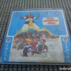 Cine: MAZINGER Z - SUPER 8 MM - CAPITULO 1 EL NACIMIENTO DE UN ROBOT MILAGROSO - COLOR SONORA - ALEX FILMS. Lote 194227708