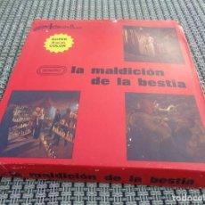 Cine: LA MALDICION DE LA BESTIA - PELICULA EN SUPER 8 - PAUL NASCHY SILVIA SOLAR. Lote 194234348