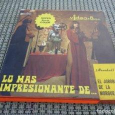 Cine: EL JOROBADO DE LA MORGUE - PELICULA EN SUPER 8 - DIRIGIDA POR JAVIER AGUIRRE CON PAUL NASCHY. Lote 194236357