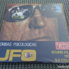 Cine: PELÍCULA SUPER 8 COLOR SONORA - UFO - BOMBAS PSICOLOGICAS - CIENCIA FICCION SCI-FI TV GERRY ANDERSON. Lote 194237876