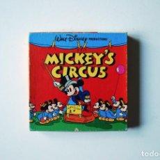 Cine: EL CIRCO DE MICKEY (MICKEY'S CIRCUS). 1936. COLOR SONORA. EN SUPER 8. Lote 194241001