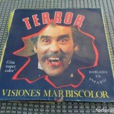 Cine: PELICULA SUPER 8 VIS. MARBISCOLOR R.417 TERROR - SU PRIMERA VICTIMA. Lote 194243432