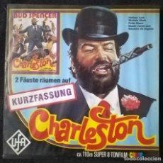 Cine: SUPER 8 ++ CHARLESTON + 120 METROS. ALEMÁN. EXCELENTE ESTADO. BUD SPENCER. Lote 194311475