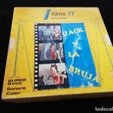 Cine: JACK Y LA BRUJA SUPER 8 / ANIMACION . Lote 194337428